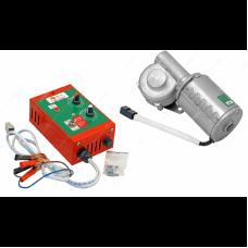 Электропривод для медогонок ABB-100 12V с ручной регулировкой