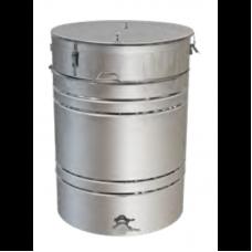 Бак - отстойник для меда 250л. с Фильтром с нержавеющей стали, кран — нержавеющий