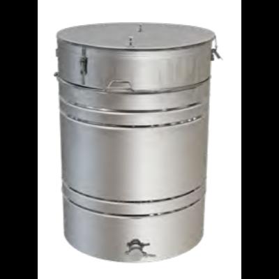 Бак - отстойник для меда 250л. с Фильтром с нержавеющей стали, кран — алюминиевый