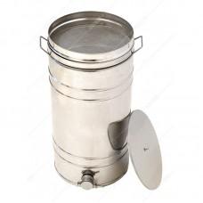 Бак - отстойник для меда 70л. с Фильтром с нержавеющей стали, кран - Пластиковый