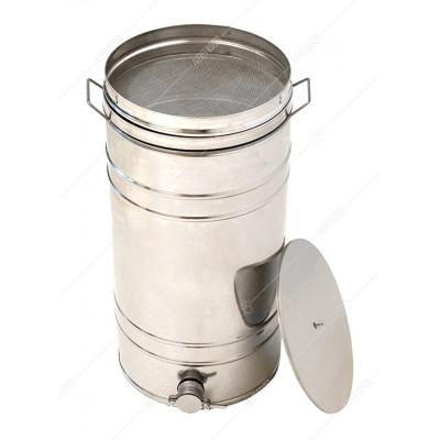 Бак - отстойник для меда 70л. с Фильтром с нержавеющей стали, кран - алюминиевый