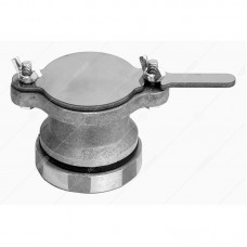 Кран сливной (алюминиевый), засов нержавеющий