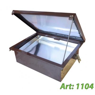 Воскотопка солнечная на 1 рамку ABB-100