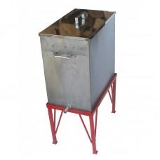 Воскотопка паровая под 6 рамок (воскотопка - из нержавеющей стали; подставка - порошковая окраска)