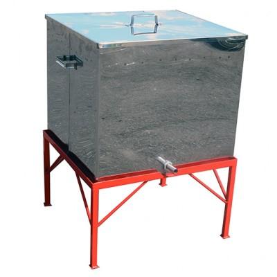 Воскотопка паровая под 13 рамок (воскотопка - из нержавеющей стали; подставка - порошковая окраска)