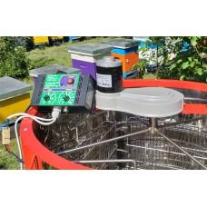 Электро-привод ременной 12 В 100 Вт для медогонок АВВ-100 или Чарунка