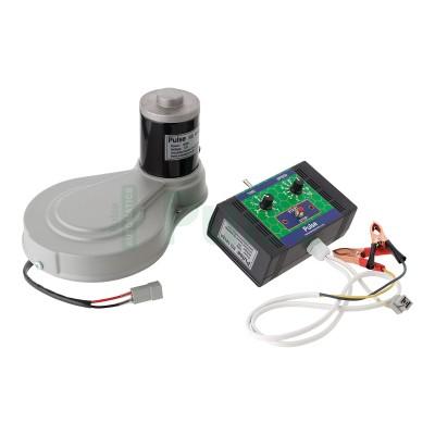 Электро-привод к медогонке ременной 12 В 100 Вт для медогонок Мелиса 93