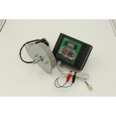 Электро-привод ременной Евро пульт для медогонок АВВ-100 или Чарунка 12 В 100 Вт
