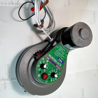 Электро-привод к медогонке Моноблок ременной 12 В 100 Вт для медогонок Мелиса 93