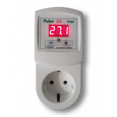 Терморегулятор PT20-VR1 (короткий датчик 7 см)